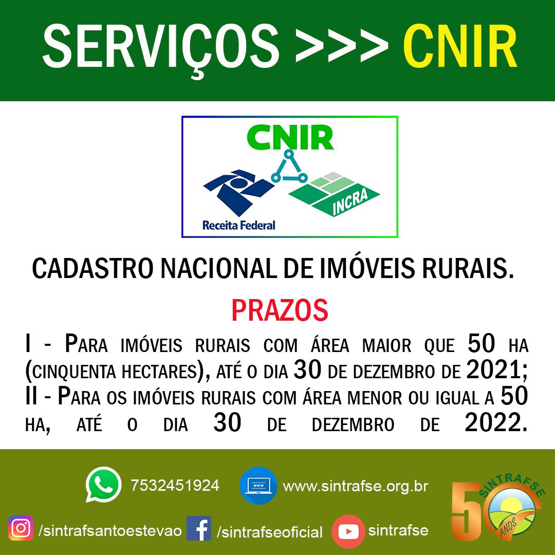 SERVIÇOS-CNIR